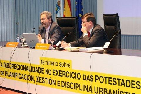 Luis Pomed Sánchez, Letrado do Tribunal Constitucional - Seminario sobre a Discrecionalidade no Exercicio das Potestades de Planificación, Xestión e Disciplina Urbanística